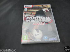 PC Game Football Manager 2012 Brand New Sealed Loose Disc