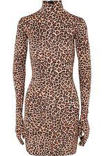 Vetements Leopard Print Short Dress