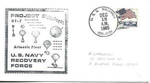 WALDRON (DD-699) 18 December 1965 Locy Type 2t(n+u) Gemini 7 Atlantic Fleet