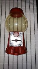 """Vintage Craft House Corp Plastic Gumball Machine 9"""" Tall"""