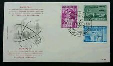 Belgium Nuclear Euratom Reactor Plant 1961 Science Technology (FDC) *clean *rare