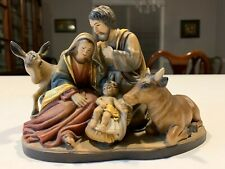 Anri Holy Family Nativity Carving