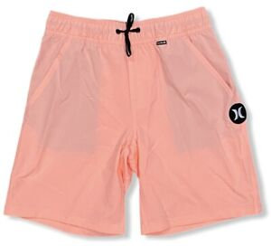"""Hurley Kids' Boys' Youth One and Only 16"""" Volley Shorts - Pink (Medium)"""