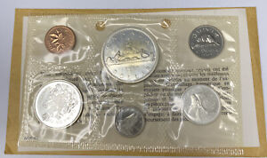 1965 CANADA Silver Proof Like Uncirculated Coin Set in Envelope