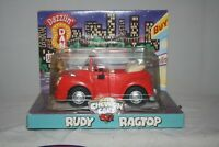 Chevron Cars RUDY RAGTOP - Red Convertible w/ Free Brochure! 1999 NEW in Pkg NOS