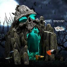 Aquatic Aquarium Landscaping Rockery Decor Skull Mountain Fish Tank Ornament