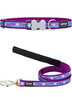 Red Dingo UNICORN Collar / Lead | PURPLE / BLUE | Dog / Puppy | Sizes XS - LG