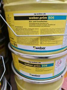 2K  weber.prim 806 Riss- und Grundierharz Harz Epoxidharz Epoxid 3 kg