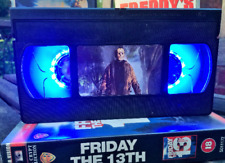 Friday The 13th VHS Night Light, Desk Lamp, Jason, Film, Horror, Bedroom Lamp