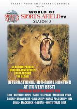 World of Sports Afield Tv Season 3 Big Game Hunting Dvd Safari Press Classics
