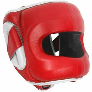 Ringside Deluxe Full Face Saver DFSH MMA Boxing Sparring Headgear Head Gear