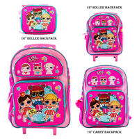 L.O.L Surprise! Backpack with Matching Lunchbox Combo GO L.O.L Everyday Bag