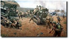 Warriors Fight 2-4 in Afghanistan Military Art Prints A//P by Larry Selman