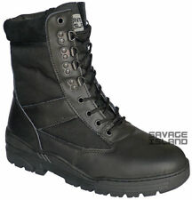 Combat Boots Lace Up Shoes for Men