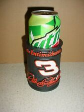 """DALE EARNHARDT CAN COOZIE """"THE INTIMIDATOR"""" 7 TIME WINSTON CUP CHAMP NASCAR"""