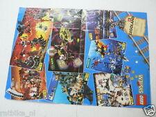 LEGO BROCHURE FLYER CATALOG TOYS 1997 EXPLORIANS DUTCH 2 PAGES 071
