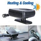 2 in 1 12V 150W Auto Car Dryer Heater Cooler Fan Demister Defroster Hot & Cold