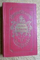 LA COMTESSE DE SEGUR LES DEUX NIGAUDS  bibliothèque rose