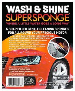 Wash & Shine SuperSponge (Car)