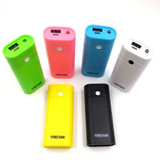 5600mAh 5V USB Power Bank Case 18650 Battery Charger DIY Box For Cell PhoneES