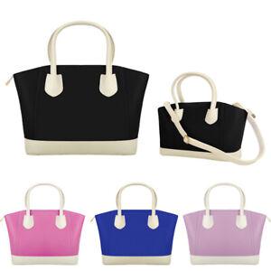Women Fashion Zipper Tote Faux Patent Leather Handbag School Bag Lady Satchel