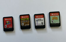 Nintendo Switch Game Lot of 4 Games Animal Crossing Smash Bros Mario Minecraft