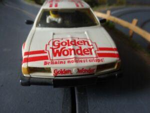 SCALEXTRIC ROVER 3500 GOLDEN WONDER 1/32 VINTAGE  RARE VERSION
