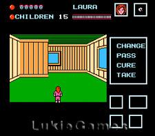 Friday The 13Th - Original NES Nintendo Game