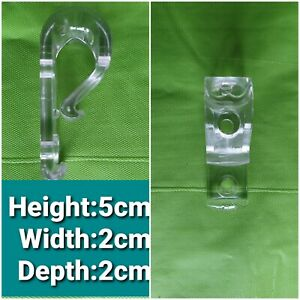 Clear Child  Safety Chain and Cord Guide  P Clip for Curtain Track & Blind