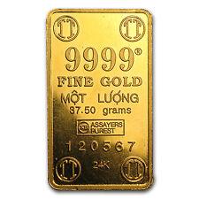 37.5 gram Gold Bar - Secondary Market - SKU #14528