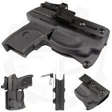 Compact Holster with UltiClip for Ruger LC9, LC9s, LC380 Crimson Trace Pistols