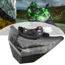 For Kawasaki Ninja 300 13-15 Integrated LED Turn Signals Rear Tail Light Smoke