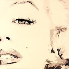 MARILYN MONROE - SHE KNOWS - FINE ART PRINT POSTER 13x19 - PAQ001