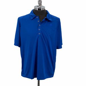 Novara Cycling Jersey Shirt Short Sleeve Blue Snap Up Pockets Men's Size XXL 2XL