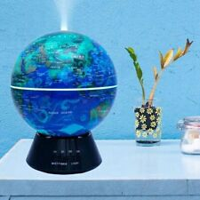 Humidifier in the form of a globe with a diffuser LED lights Aromatherapy home