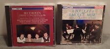 2 Classical Music CD Japanese Releases Denon Baroque & Beethoven Triple Concerto