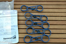 RIC CLIPS 33MM R/H BLUE,10 STUD FIXING, APASEAL, AP07501 SECURITY WHEEL PRODUCT.
