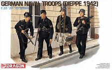 Dragon 1/35 6087 WWII German Naval Troops (Dieppe 1942) (4 Figures)