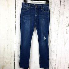 KUT From the Kloth Jeans Women's Size 2 Catherine Boyfriend Distressed Skinny