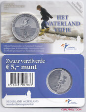 """NEDERLAND 5 EURO  2010: """"HET WATERLAND VIJFJE"""" IN COINCARD"""