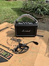 Marshall Kilburn Battery powered Bluetooth Speaker Steel Addition