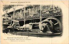 CPA PARIS EXPO 1900 - Machine Soufflante a Gaz (307481)