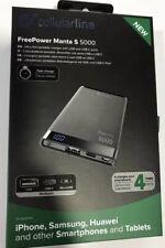 CELLULARLINE Power Bank FreePower Manta 5000 Slim Fast Charge 1 USB Una TYPE-c