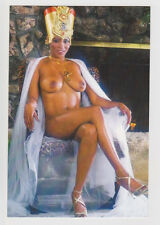 Postcard Pinup Risque Nude Stunning Girl Extremely Rare Photo Post Card 5549