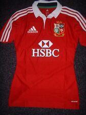British Lions Medium Performance BNIB Adidas Rugby Union Shirt Jersey Climacool