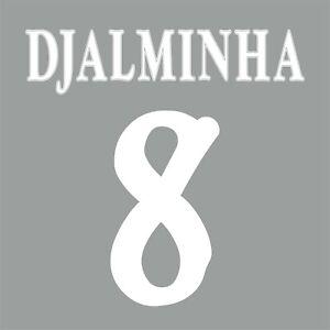 Djalminha 8. Deportivo la Coruna 1999 - 2000 FLEX NAMESET NAME SET PRINT