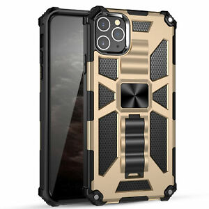 For iPhone 13 12 Pro Max 11 XS XR 8 7 Plus Bumper Shockproof Magnetic Case Cover