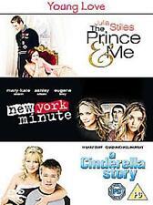 THE PRINCE & ME NEW YORK MINUTE A CINDERELLA STORY 3 DISC BOX SET UK RG2 DVD VGC
