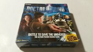 ❤BRAND NEW & SEALED❤ BBC Doctor Who - Battle to Save the Universe - Board Game❤❤