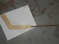 "Vintage 70's Mylec offical street Hockey Goal Stick 55"" Great Condition goalkeep"